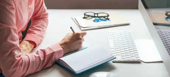Work desk. Freelancer home office. Work from home. Entrepreneurship on the Internet.